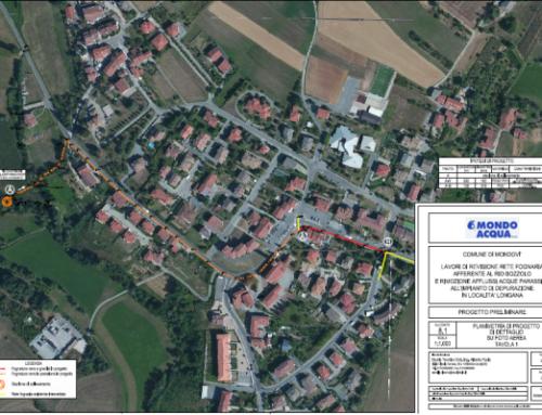 Revisione rete fognaria afferente a Rio Bozzolo e riduzione afflussi acque parassite dell'impianto di depurazione di Loc. Longana Comune di Mondovì
